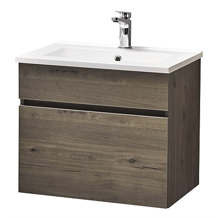 Clearlite Pinnacle Slim Single Drawer 750mm Wall-Hung Vanity