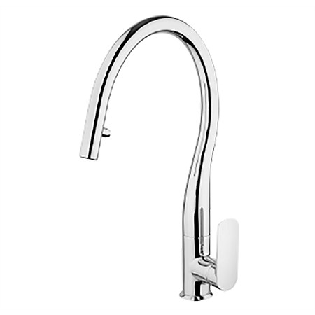 Paini Nove Pull Down Kitchen Mixer with Dual Function Nozzle