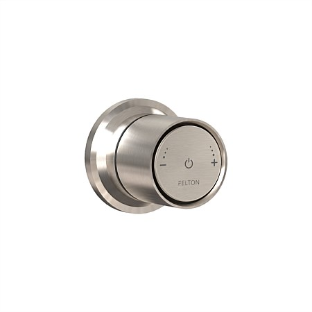 Tate Smartflow Digital Shower Mixer Brushed Nickel