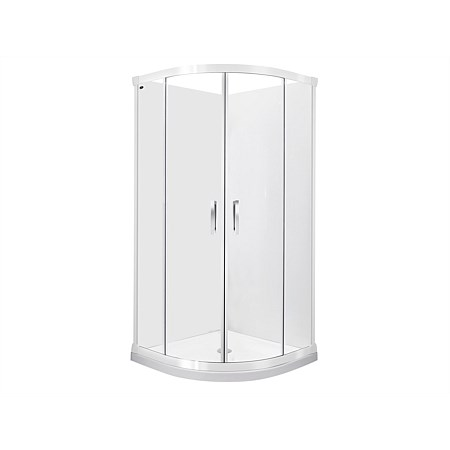 Englefield Azure II 900mm 2 Sided Round Shower Enclosure