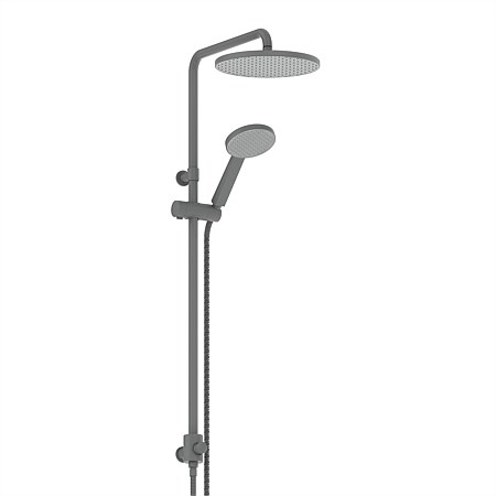 Greens Glide RainBoost® Column Shower Gunmetal