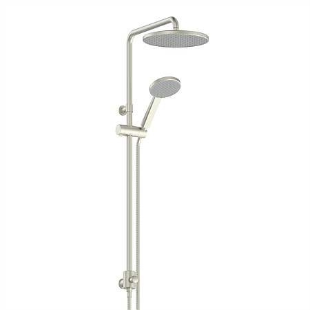 Greens Glide RainBoost® Column Shower Bushed Nickel