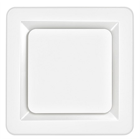 Martec Tetra II Square 250mm Exhaust Fan White