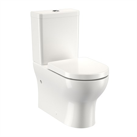 Clark Round Alto II Back to Wall Toilet Suite