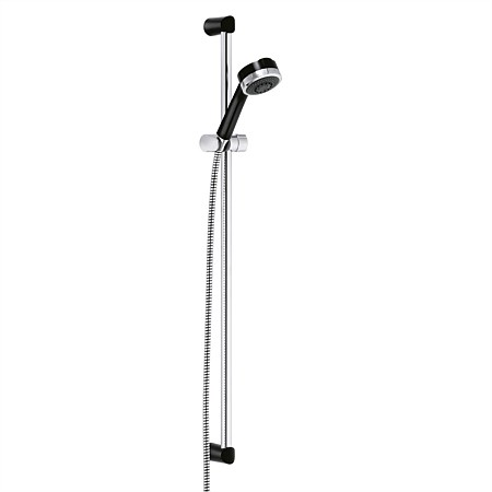 Kludi Zenta 3 Function Slide Shower Black & Chrome