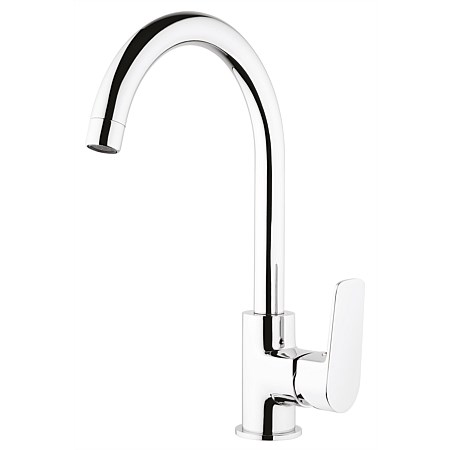Voda Soul Gooseneck Sink Mixer Chrome