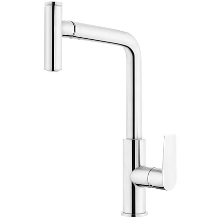 Voda Olympia High Rise Pullout Sink Mixer Chrome