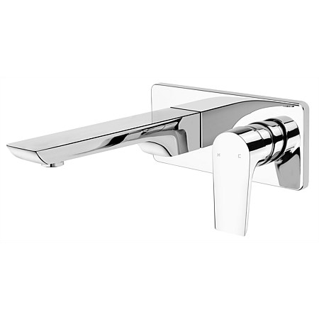 Voda Olympia Wall Mounted Basin Mixer Chrome