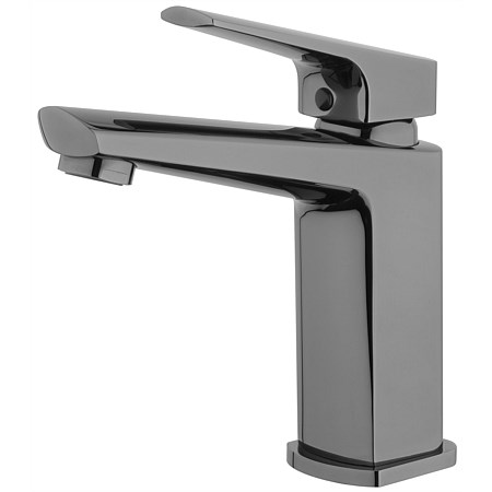 Voda Eclipse Basin Mixer Mirrored Black