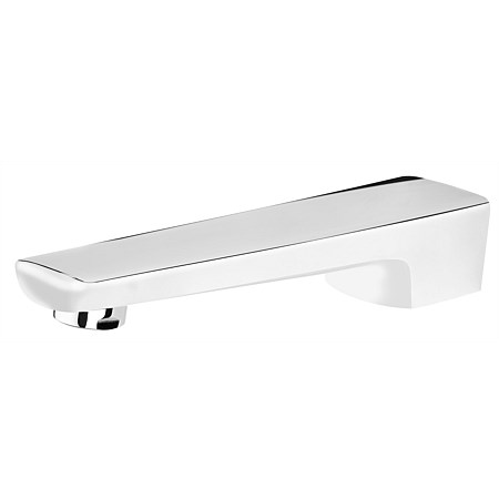 Voda Eclipse Bath Spout White/Chrome