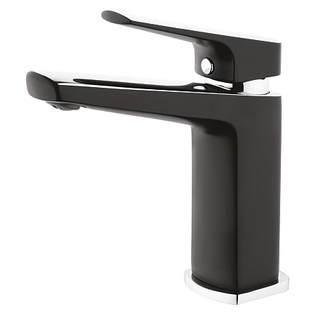 Voda Eclipse Basin Mixer Black/Chrome