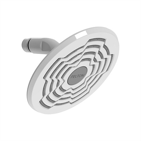 Felton Designer III Shower Head White