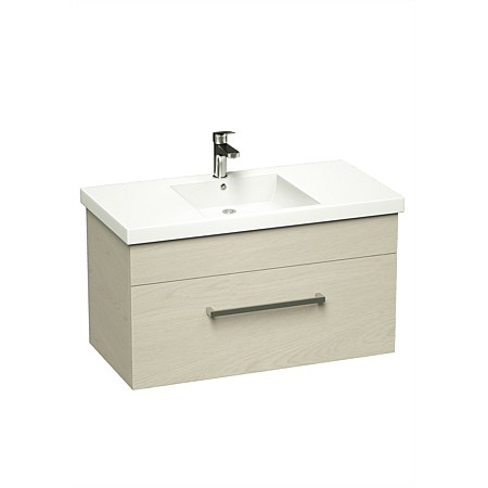 LeVivi York Neo 900mm Wall-Hung Vanity Driftwood