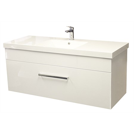 LeVivi York Neo 1200mm Wall-Hung Vanity White