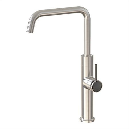 Felton Tate Sink Mixer Brushed Nickel/Brushed Gunmetal