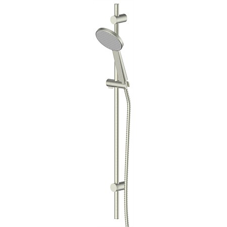 Greens Glide Rainboost Adjustable Rail Shower Brushed Nickel