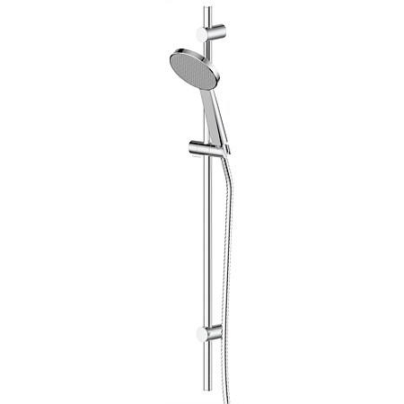 Greens Glide Rainboost Adjustable Rail Shower Chrome