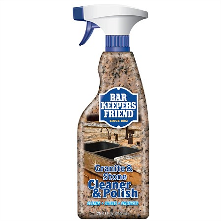 Bar Keepers Friend Granite & Stone Cleanser & Polish 750ml